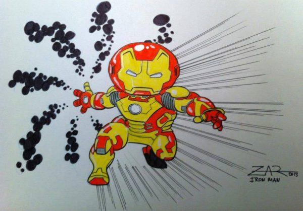 Iron Man - Little Toon