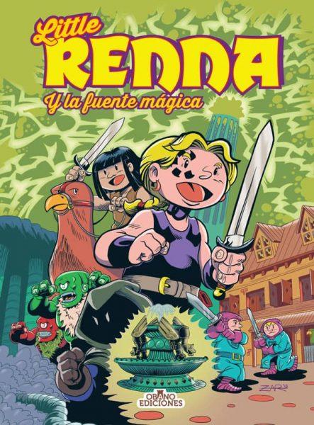 Portada Little Renna y la Fuente mágica