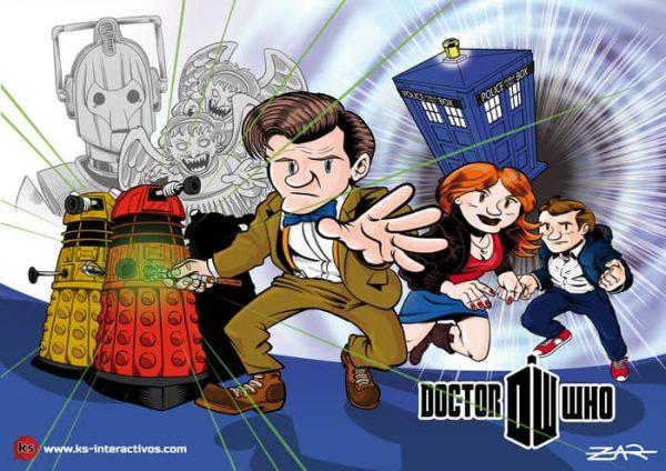 Dr. Who - Print - Postal
