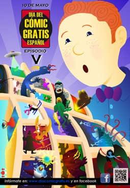 Cartel Día del Cómic gratis 2014
