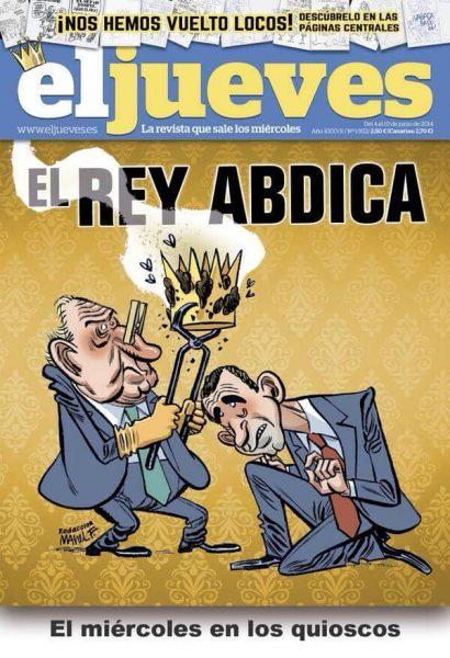 """La portada censurada de la revista """"el Jueves"""""""