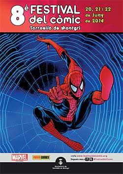 Cartel 8o festival de cómic Torroella de Montgrí