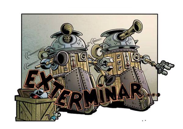 Águila Coja: Exterminadores a Cuerda (Daleks)