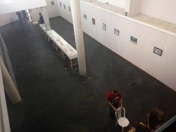 Exposición colectiva de los Vengadores