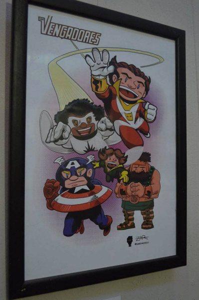 Vengadores: Ilustración de Dani Zarzuelo