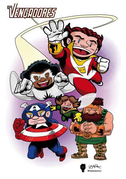 Vengadores de los 80