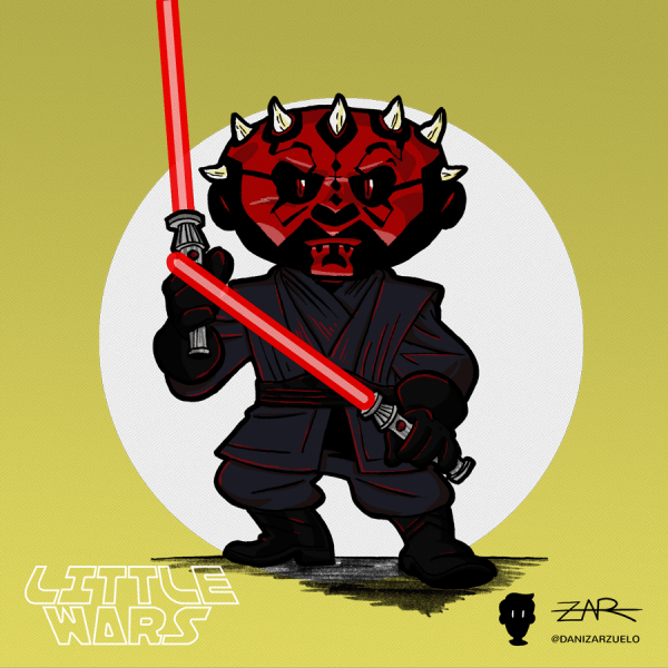 Darth Maul - La Amenaza Fantasma - Star Wars