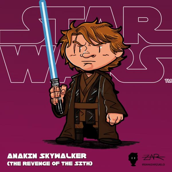 Anakin Skywalker - La venganza de los Sith - Star Wars