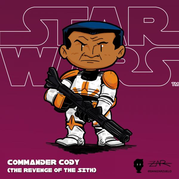 Comandante Cody - La venganza de los Sith - Star Wars