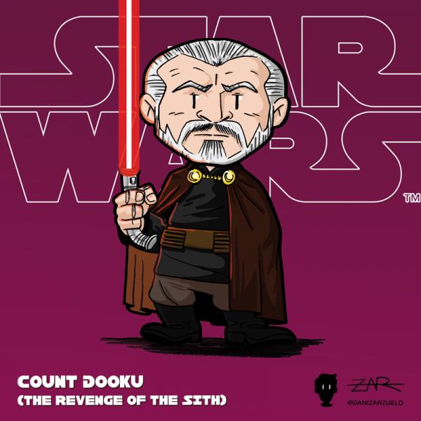 Conde Dooku - La venganza de los Sith - Star Wars