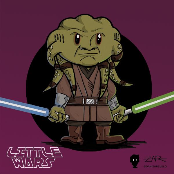 Kit Fisto - La venganza de los Sith - Star Wars