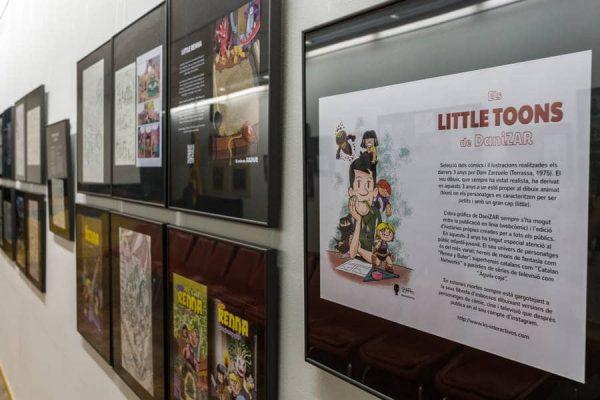 Exposición Little Toons DaniZAR 07
