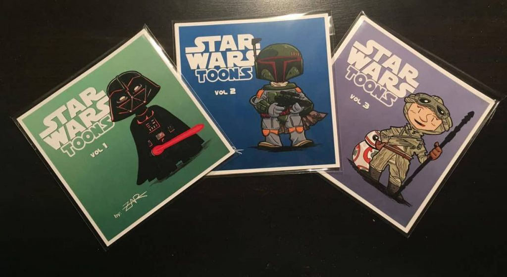 STAR WARS Toons - Vol 1, 2 y 3