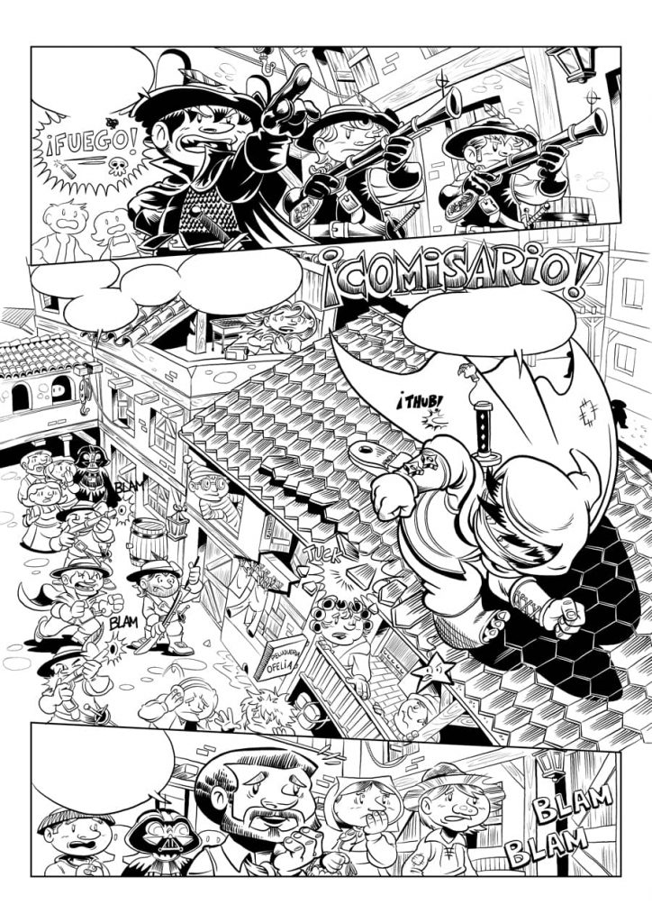 Tinta - Águila Coja - 03 Página 01