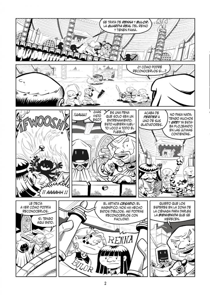 Página 2 - Little Renna y el Circo de los Dragones #1