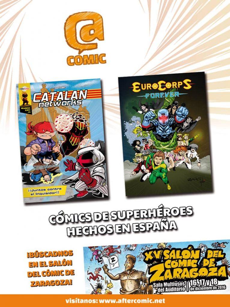 Cómics de superhéroes hechos en España