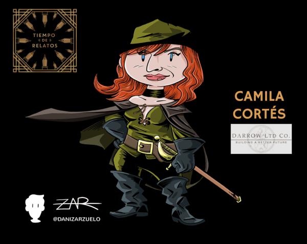 Camila Cortés - Fan Art del Ministerio del Tiempo