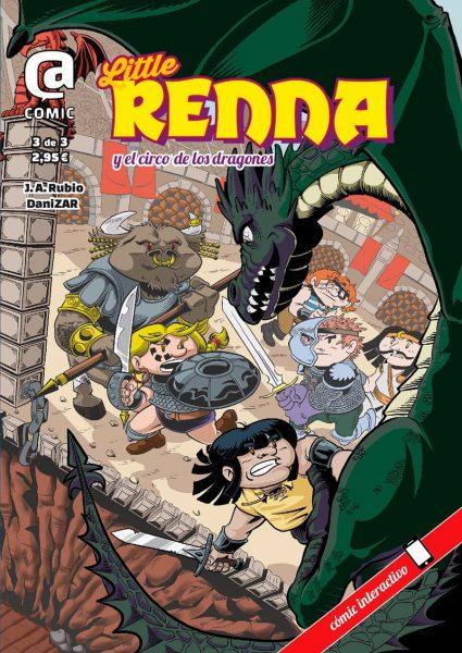 Portada provisional de Little Renna 3
