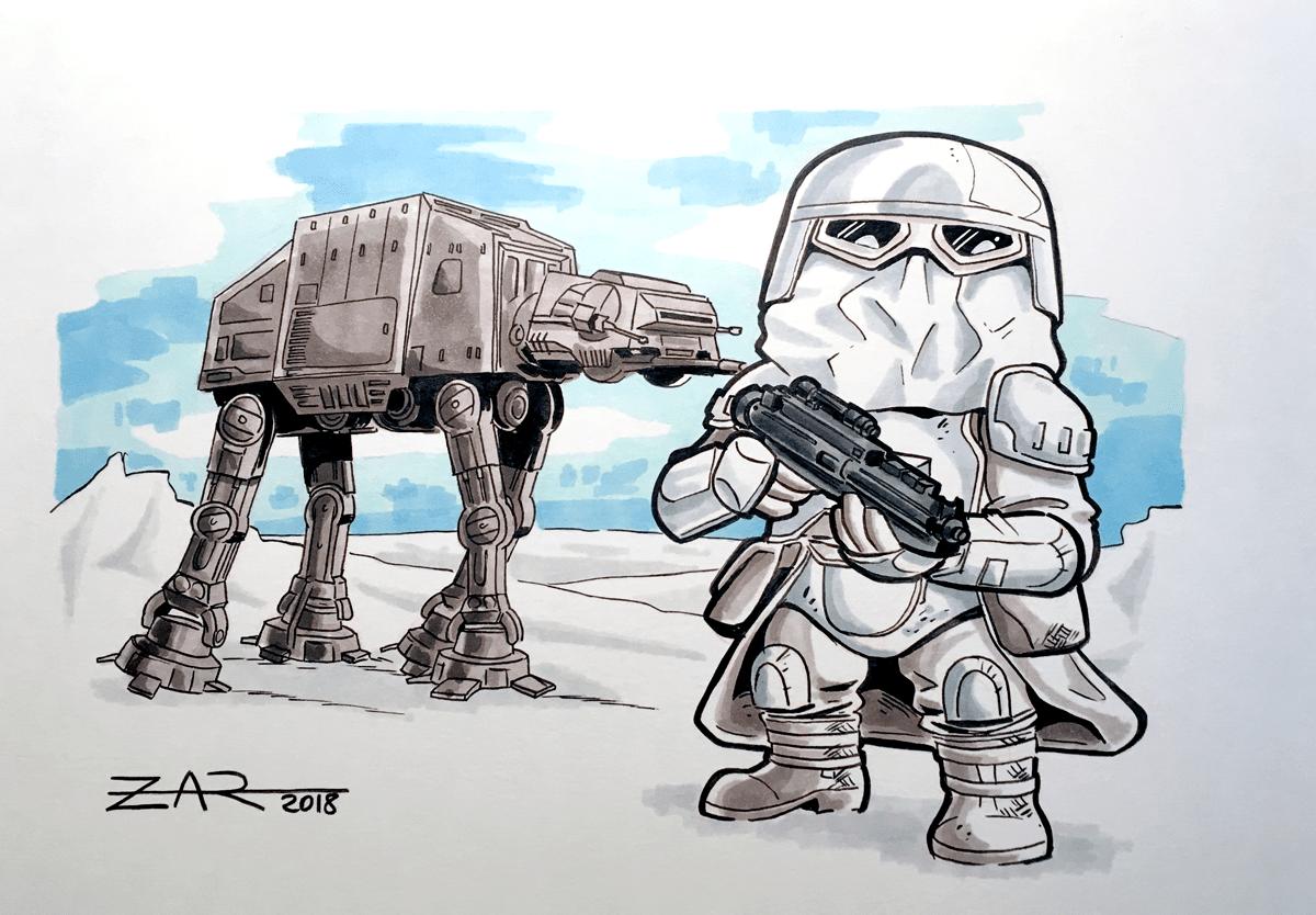 SnowTrooper - Starwars